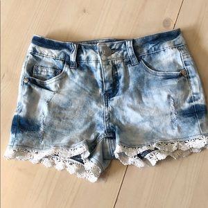 NWOT 🌼 Justice shorts 🌼 girls size 10 slim